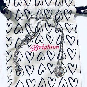 Brighton Silver Heart Necklace